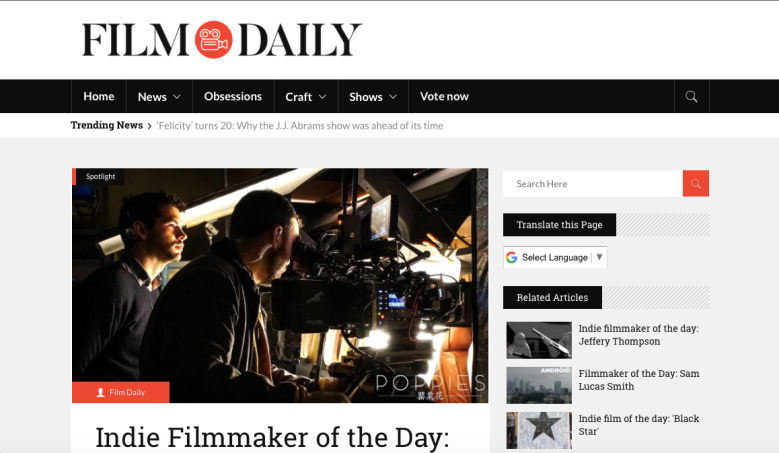 Film Daily - Erin