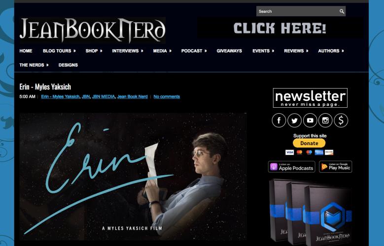 Jean Book Nerd - Erin